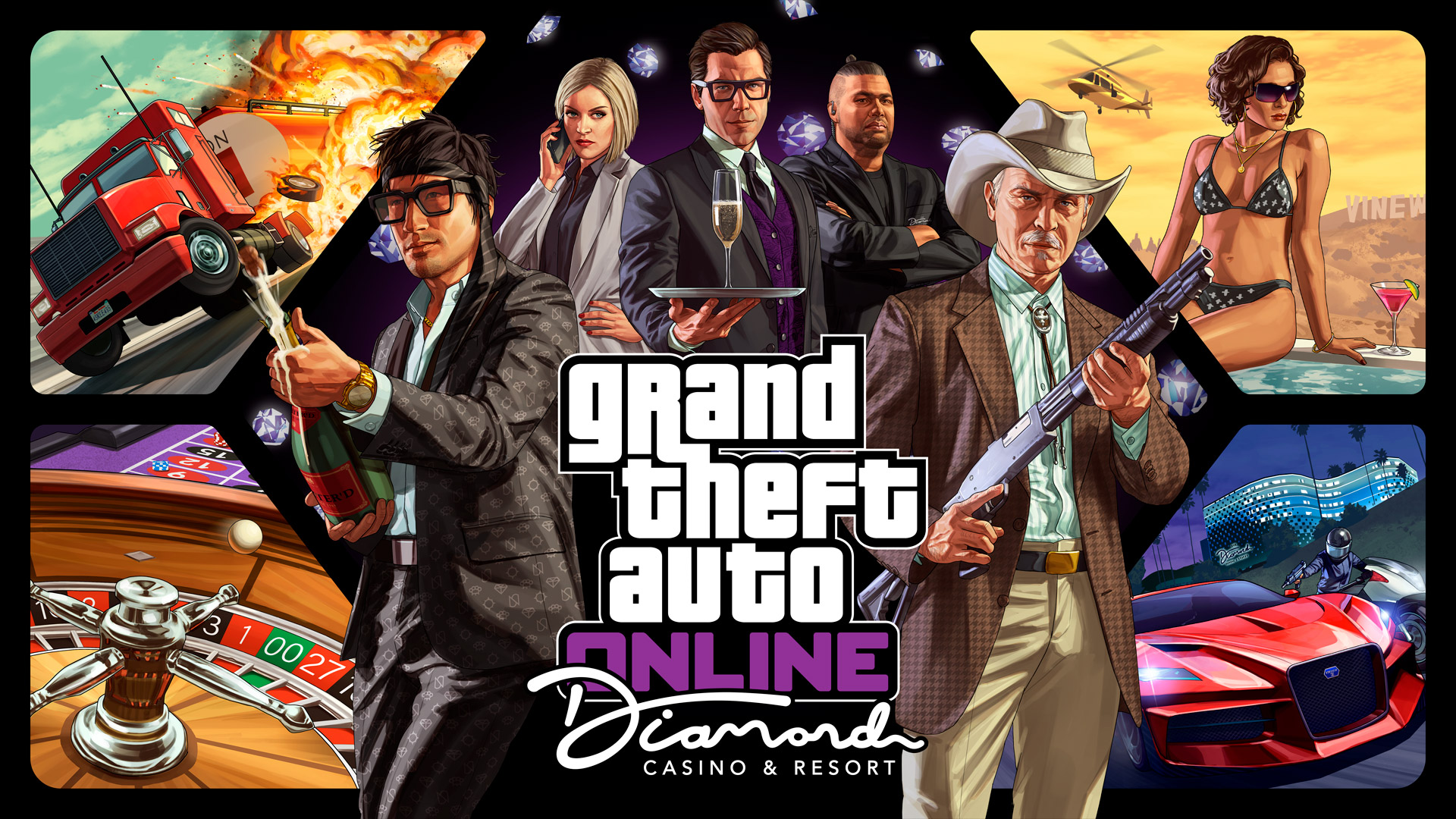 GTA Online : Le Diamond Casino & Hôtel