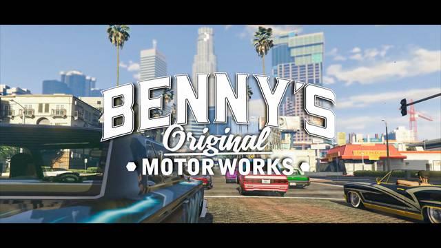GTA Online : Benny's Original Motor Works