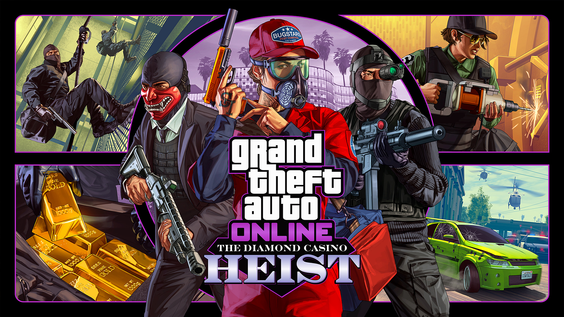 GTA Online : Le braquage du Diamond Casino