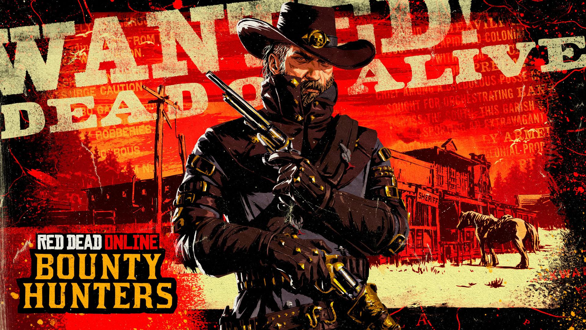 Red Dead Online : Chasseurs de primes