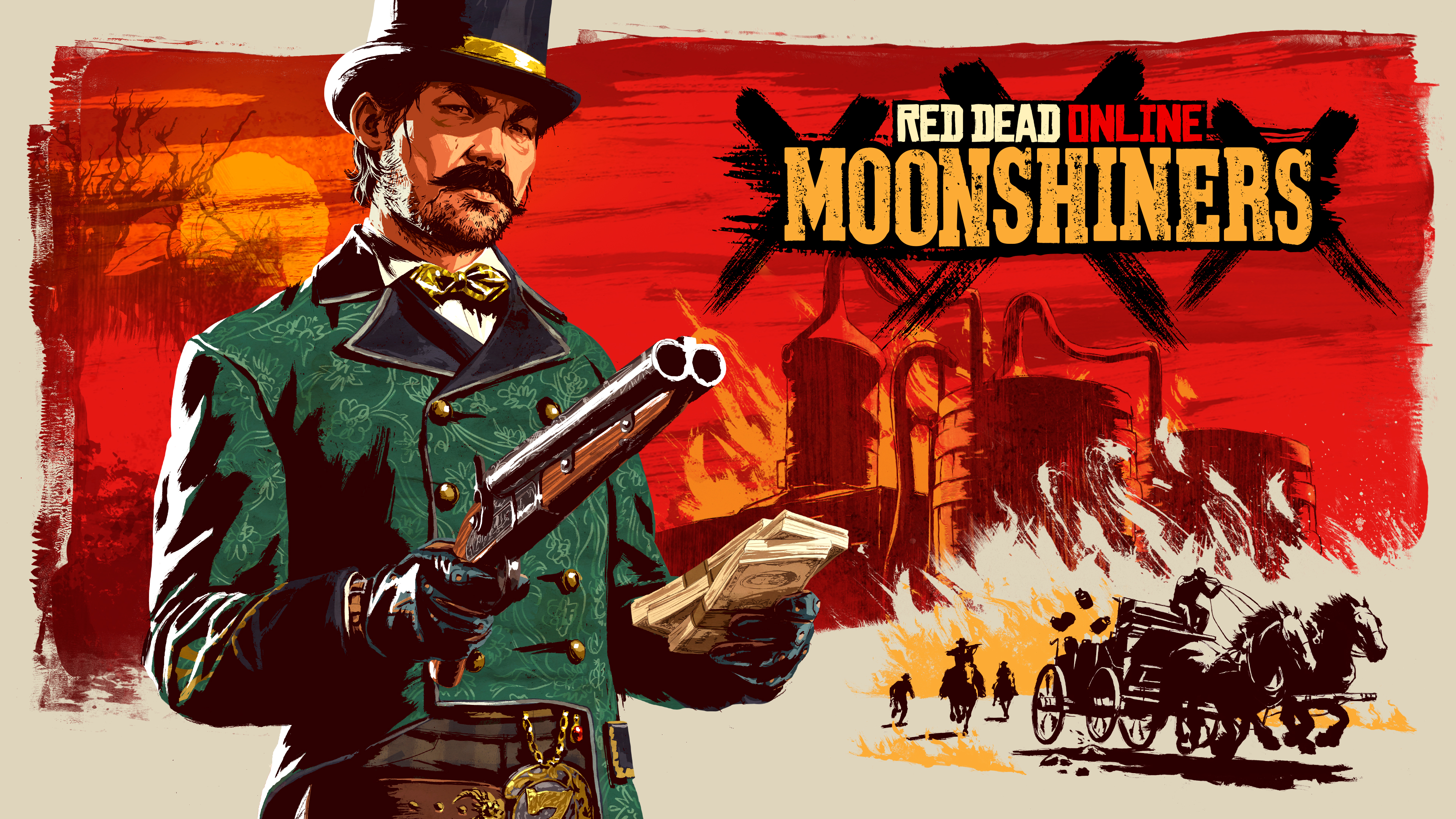 Red Dead Online : Distillation clandestine